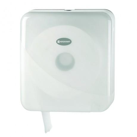 Dispenser pentru hartie igienica Herzkraft duo maxi jumbo pearl