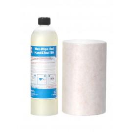 Rezerva pentru dispenser curatare maini si unelte Herzkraft Wet Wipe