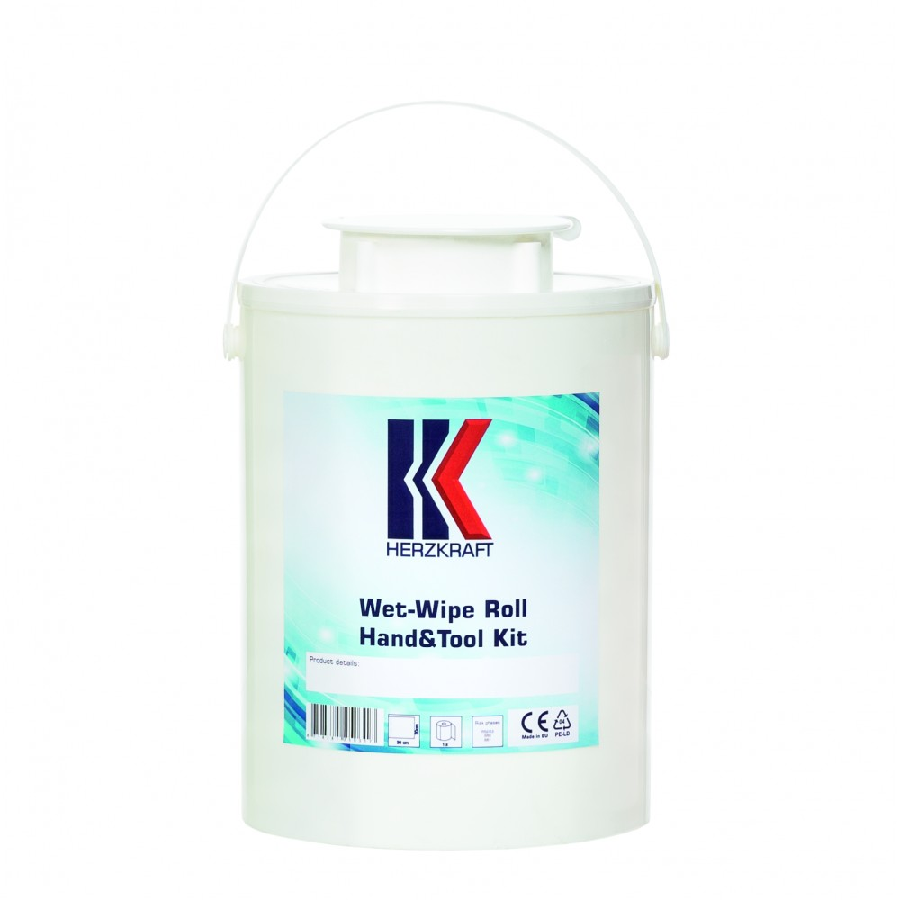 Dispenser pentru lavete curatare maini si unelte Herzkraft Wet Wipe