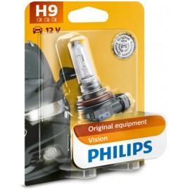 Bec auto cu halogen H9 65W 12V Philips Vision