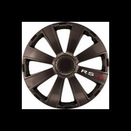 Capace pentru roti de 14 inch Mega Drive RS-T Dark set 4 bucati