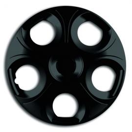 Capace pentru roti de 13 inch Mega Drive Negre Matrix set 4 bucati