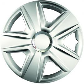 Capace pentru roti de 13 inch Mega Drive Esprit cu inel central cromat set 4 bucati