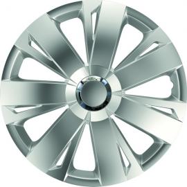 Set 4 capace roti de 16 inch Mega Drive cu inel cromat Energy