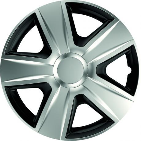 Set 4 capace roti de 16 inch Mega Drive Silver & Black Esprit