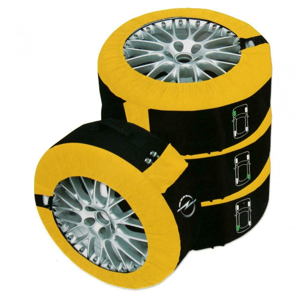 Huse de protectie anvelope si transport Petex Opel set 4 bucati marimea L