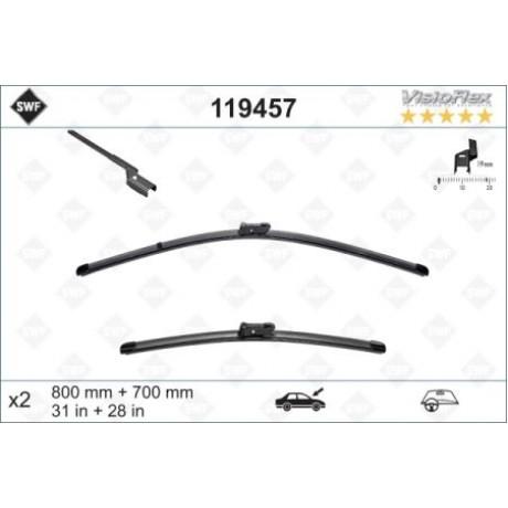 Set stergatoare parbriz SWF 500-500mm Opel Zafira III Renault Scenic IV Peugeot 5008