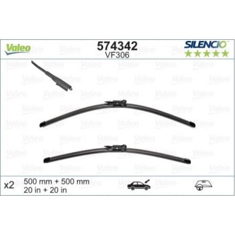 Set stergatoare parbriz Valeo Silencio 500/500MM BMW Seria 1, Mini Cooper