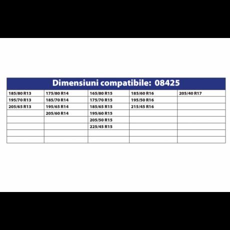 Lanturi antiderapante set 2 bucati tip romb 9 MM autoturism PC1 67