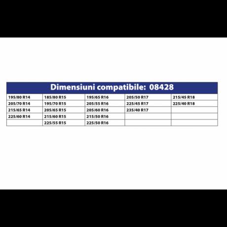 Lanturi antiderapante set 2 bucati tip romb 9 MM autoturism PC1 73