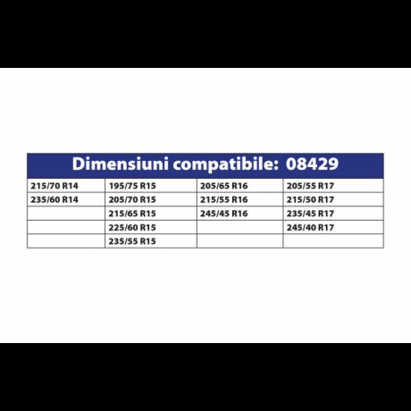 Lanturi antiderapante set 2 bucati tip romb 9 MM autoturism PC1 74