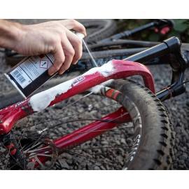 Kit pentru curatarea bicicletei Foliatec Dirt Eraser spray si laveta microfibra