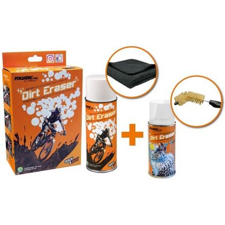 Kit pentru curatare cadru si angrenaje bicicleta Foliatec