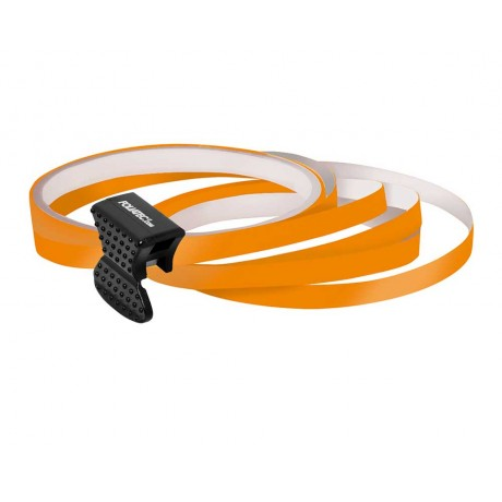Elemente decorative pentru jante auto cu aplicator Foliatec Striping Rim Design Orange
