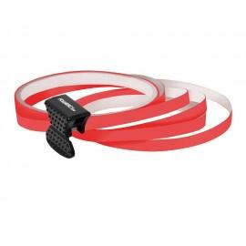Elemente decorative pentru jante auto cu aplicator Foliatec Striping Rim Design rosu NEON