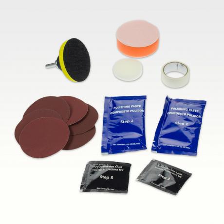 Kit pentru restaurarea farurilor matuite Mannol