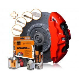 Kit vopsire etrieri Foliatec Performance Red lucios