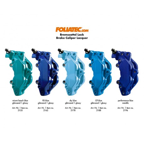 Kit vopsire etrieri Foliatec Performance Blue Metallic