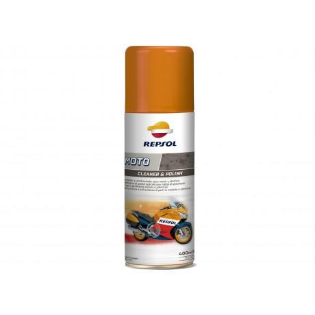 Spray pentru curatarea motocicletei Repsol Moto Cleaner & Polish 400ml