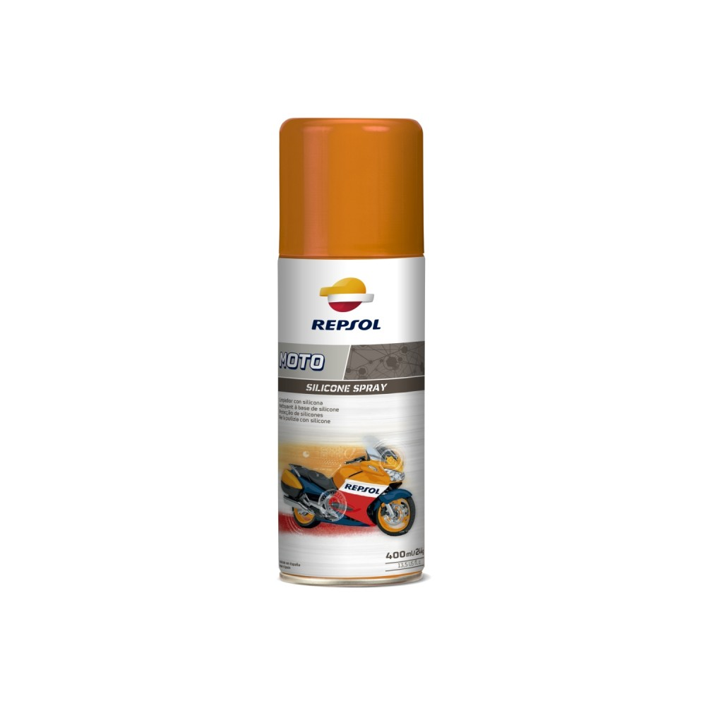 Spray pentru intretinere motocicleta Repsol Moto Silicone 400ml