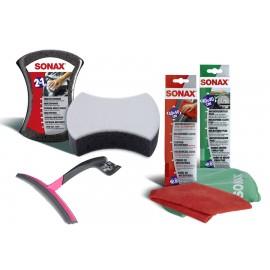 Pachet curatare auto 4 piese SONAX