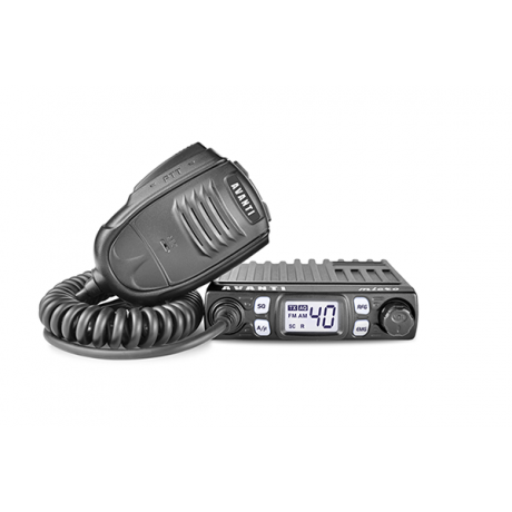Statie radio CB Avanti Micro, 4W, ASQ reglabil