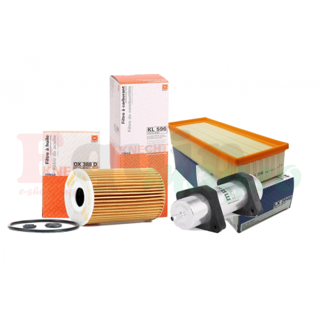 Pachet revizie filtre AUDI A4 B8 2.0 TDI 177CP Cod motor CGLC CMGB Knecht Filter