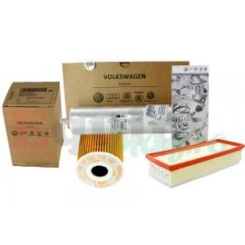 Pachet revizie filtre AUDI A4 B8 2.0 TDI 177CP Cod motor CGLC CMGB Original