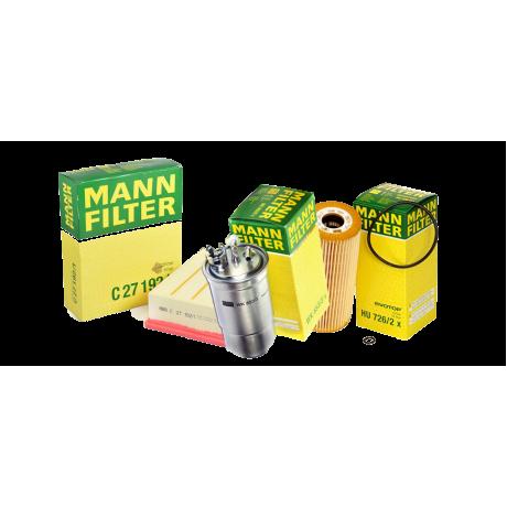 Pachet revizie filtre AUDI A4 B6 1.9 TDI 130CP Cod motor AVF AWX Mann Filter