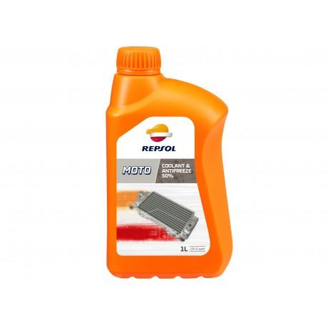 Lichid de racire motocicleta Repsol Coolant & Antifreeze 50% bidon 1L