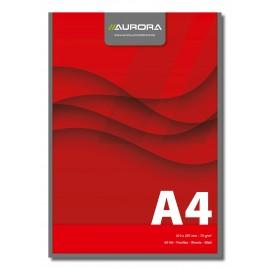 Blocnotes pentru birou A4 cu hartie de 70g/mp Aurora Office