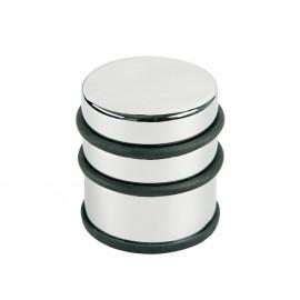 Opritor metalic, pentru usa, rotund, cu inel de cauciuc, ALCO Design