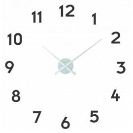 Ceas de perete NeXtime, diametrul 48cm, aluminiu