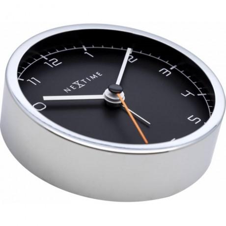 Ceas desteptator cu cifre arabe din metal Nextime Company Alarm