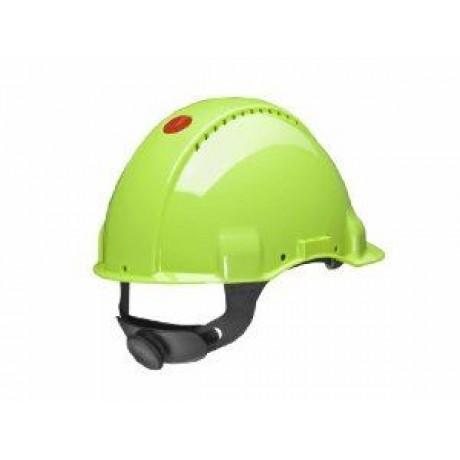 Casca de protectie santier 3M Uvicator G3000 verde