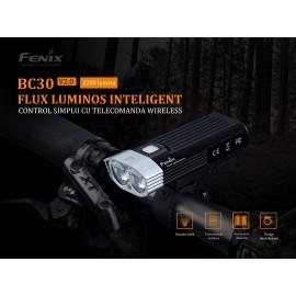 Lanterna cu led pentru bicicleta Fenix BC30 V2.0 2200 lumeni