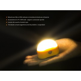 Lanterna camping cu led FENIX CL20R