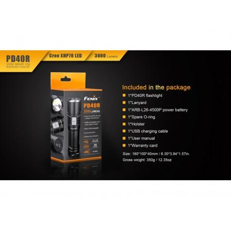 Lanterna Fenix PD40R