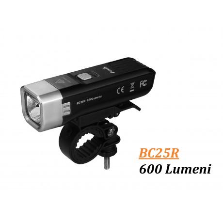 Lanterna Bicicleta Fenix BC25R 600 Lumeni