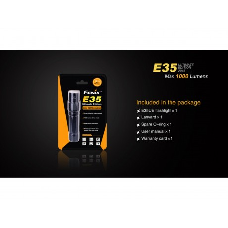 Lanterna pentru uz general EDC Fenix E35 Editie 2016