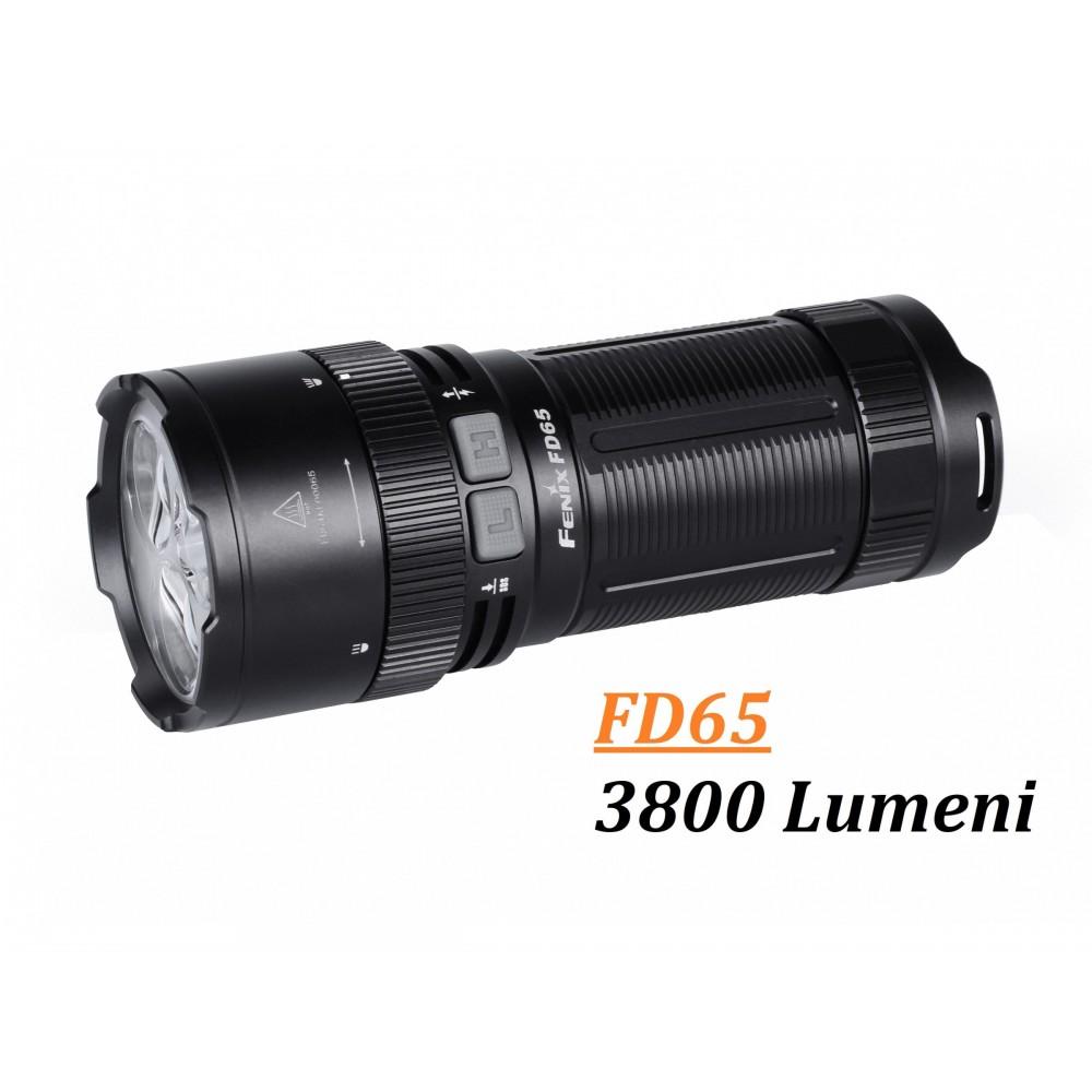 Lanterna Fenix FD65 3800 Lumeni - 850 Metri