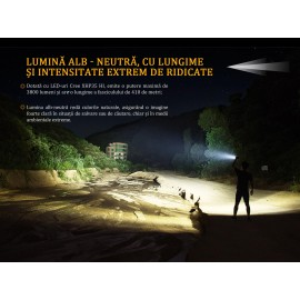 Lanterna Fenix FD65 3800 Lumeni