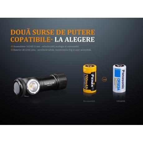 Lanterna Fenix LD15R - Lanternă Reîncărcabilă - 500 Lumeni - 85 Metri