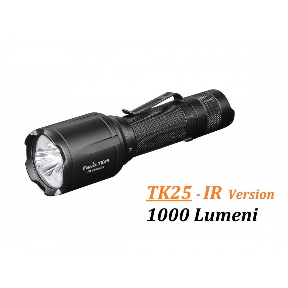 Lanterna Fenix TK25 Versiune Infra-Rosu