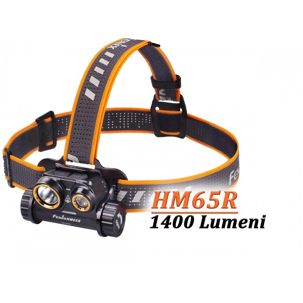 Lanterna frontala cu intensitate mare Fenix HM65R