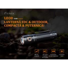 Lanterna EDC Fenix LD30 editie 2019