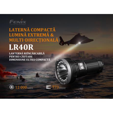 Lanterna profesionala Fenix LR40R