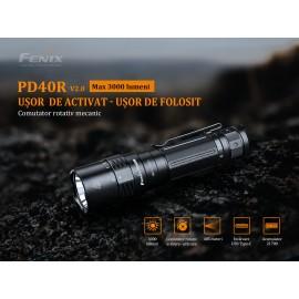Lanterna cu led reincarcabila Fenix PD40R V2.0