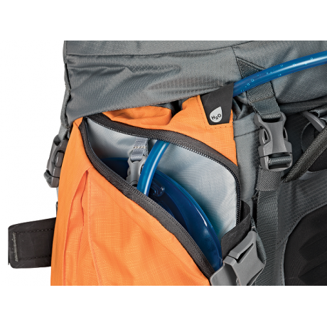 Rucsac Lowepro Powder BP 500 AW (grey/orange)
