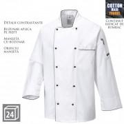 Jacheta de protectie bucatari PORTWEST Executive Chefs C776